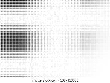 Dotted Halftone Background. Dots Pattern. Abstract Texture. Black and White Modern Backdrop. Vector illustration