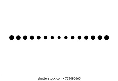 Dotted line images stock photos vectors shutterstock dotted line simple shape vector symbol icon design swarovskicordoba Gallery