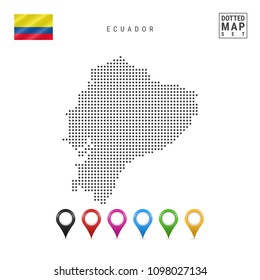 Simplified world map images stock photos vectors shutterstock dotted map of ecuador simple silhouette of ecuador the national flag of ecuador gumiabroncs Choice Image