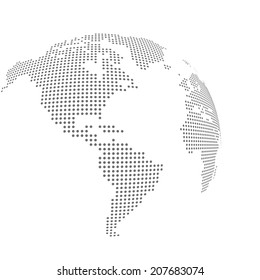 Dotted vector map
