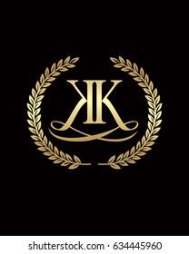 Double K Elegant Logo