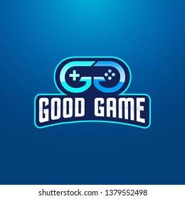 Double Letter G Gaming Logo Design