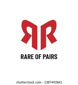 Double Letter R Logo Template