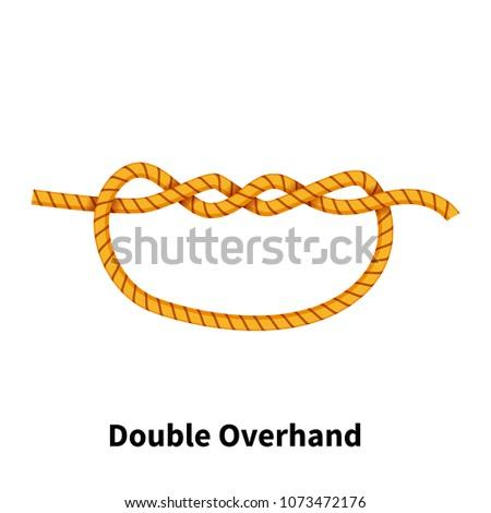 Double Overhand sea knot
