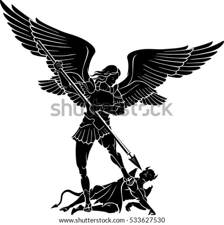 Double Winged Archangel Michael