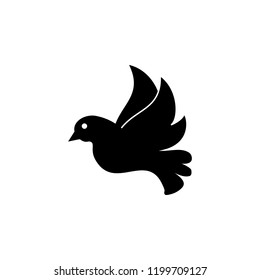 Dove of peace icon. Element of war and piece. Premium quality graphic design icon. Signs and symbols collection icon for websites, web design, mobile app on white background