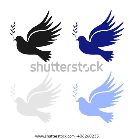 Dove Peace Dove Peace Vector Peace Stock Vector Royalty Free