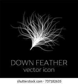 Down feather icon