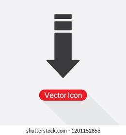 Download Arrow Icon Vector Illustration Eps10