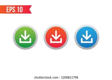 download button icon / start button for websites / applications