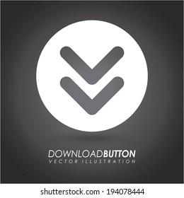 Download design over gray background, vector illustration