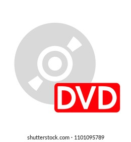 download dvd button - media or music player - multimedia icon
