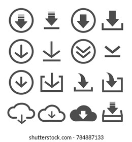 download icon stock vector