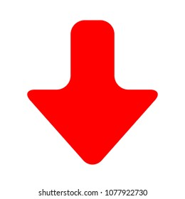 Download icon - vector download button, downloading sign symbol