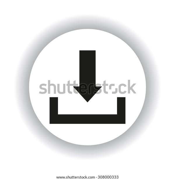 Download. icon. vector design
