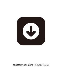Download icon vector logo