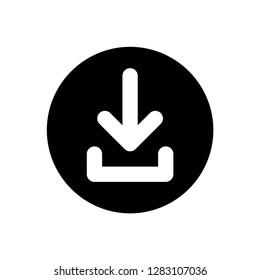 download icon vector symbol