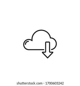 Download Icon Vector Symbol Design Illustration