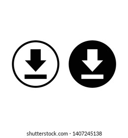 download icon vector symbol sign