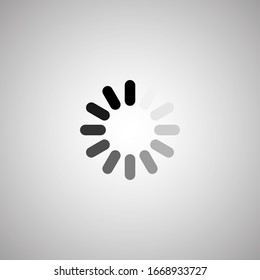 download icons. Load. download icons. White background. Vector download icon
