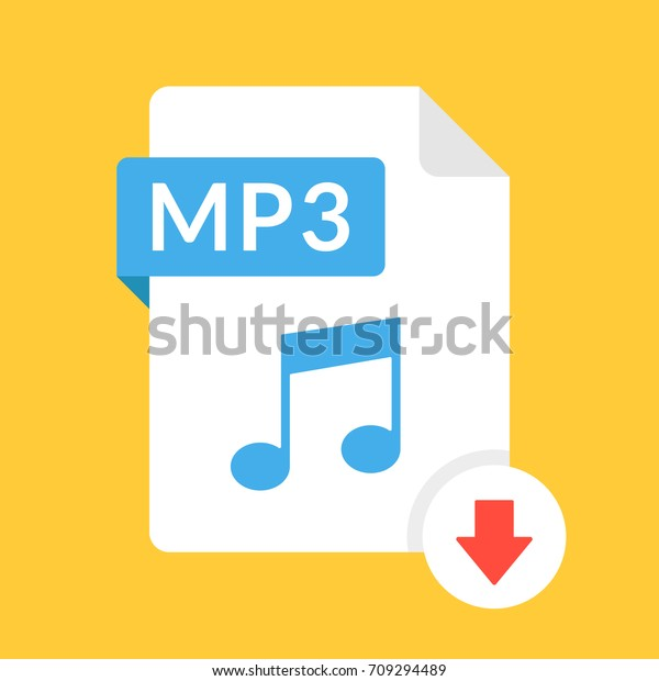 Download Mp3 Icon File Mp3 Label Stock Vector (Royalty Free