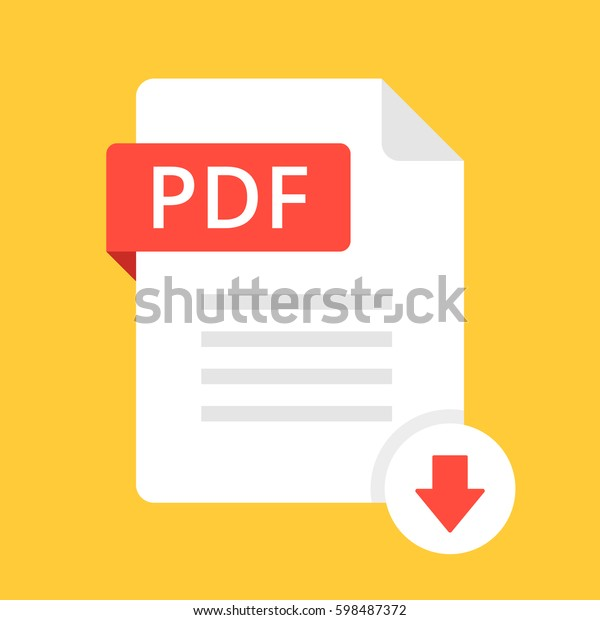Download Pdf Icon File Pdf Label Stock Vector (Royalty Free