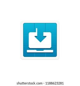 Download Updates - App Icon