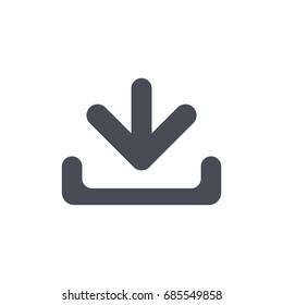 Download - Vector icon Download Icon Vector / Download icon / Download- Vector icon