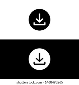 Download vector icon, download symbol vector for web
