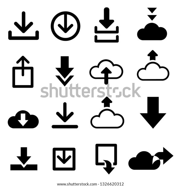 Download Vector Icons Creating Button Bar Stock Vector (Royalty Free