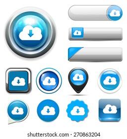 downloading icon