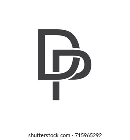 DP Abstract Initials Logo