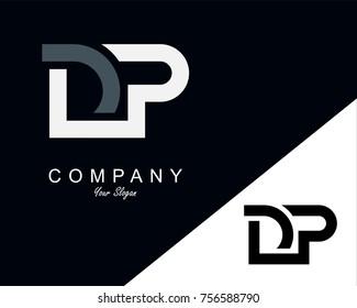 DP Letter Logo Design Template