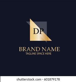 DP Letter Logo Design.Sign.Symbol.Typography