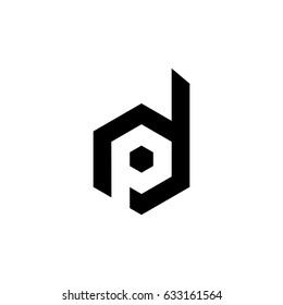 dp letter vector logo