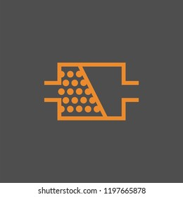 DPF FAP symbol warning light, instrument cluster indicator