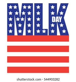 Dr. Martin Luther King Jr. Day design. EPS 10 vector.