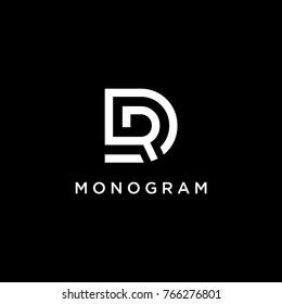 DR Monogram Logo