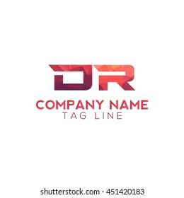 dr polygonal logo