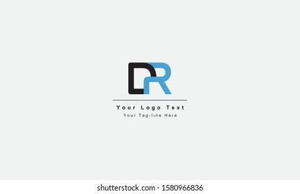 DR or RD letter logo. Unique attractive creative modern initial DR RD D R initial based letter icon logo