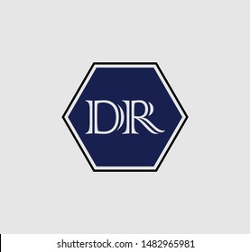 DR or RD logo and icon designs