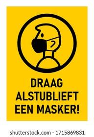 Draag Alstublieft Een Masker (
