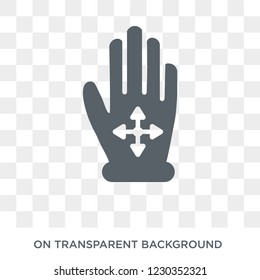 Drag Flick icon. Trendy flat vector Drag Flick icon on transparent background from Hands and guestures collection.