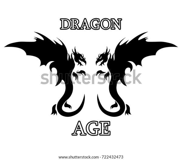 Vector De Stock Libre De Regalías Sobre Dragon Age