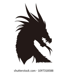 dragon animals vector logo
