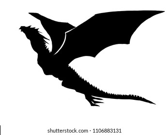 Dragon black Head