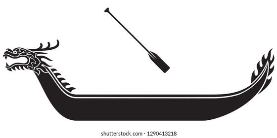 dragon boat festival illustration