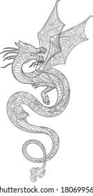 Dragon (contour)