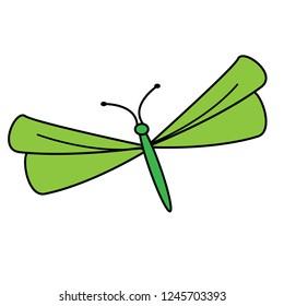 dragon fly grapics logo