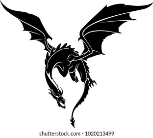 Dragon Front Flying